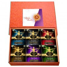 Raksha Bandhan Bath Minerals Gift Set- Six Home Spa Experiences