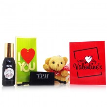 Perfume Teddy Gift for Him