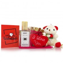 Special Edition Perfume Teddy Valentine Gift Set for Him