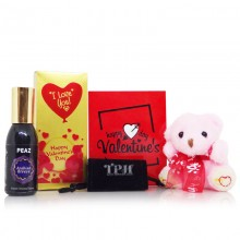 Perfume Teddy Gift for Her