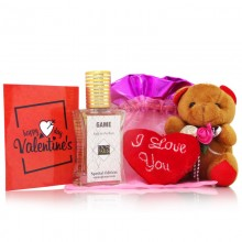 Special Edition Perfume Teddy Valentine Gift Set for Her